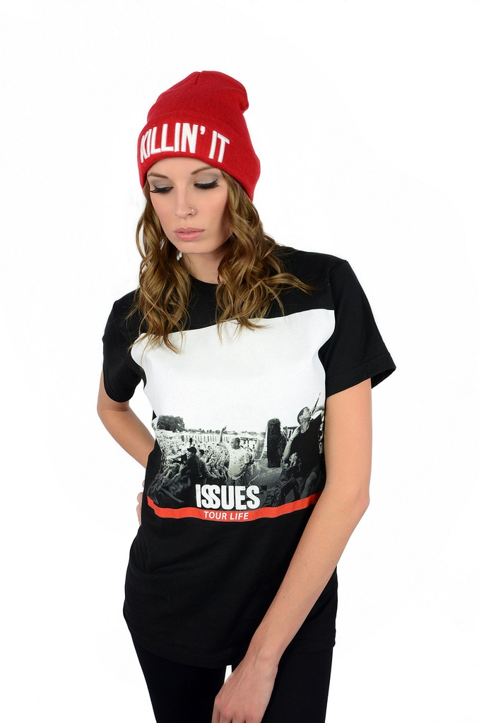 Issues X The Tour Life Collab T Shirt - Womens