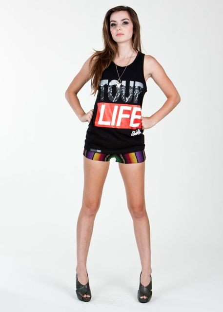 Tour Life Tank Top - Womens