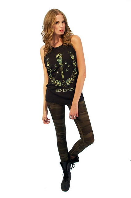 Undefeated Camo Tank Top Womens