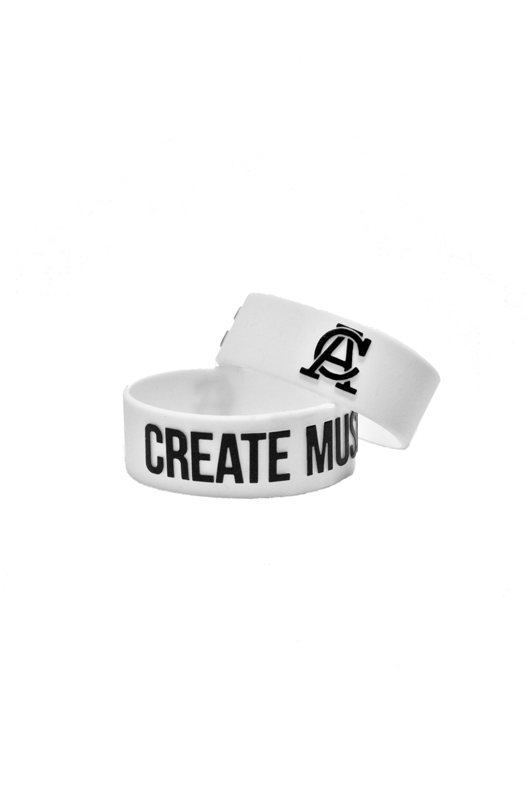 Create Music Bracelet - White