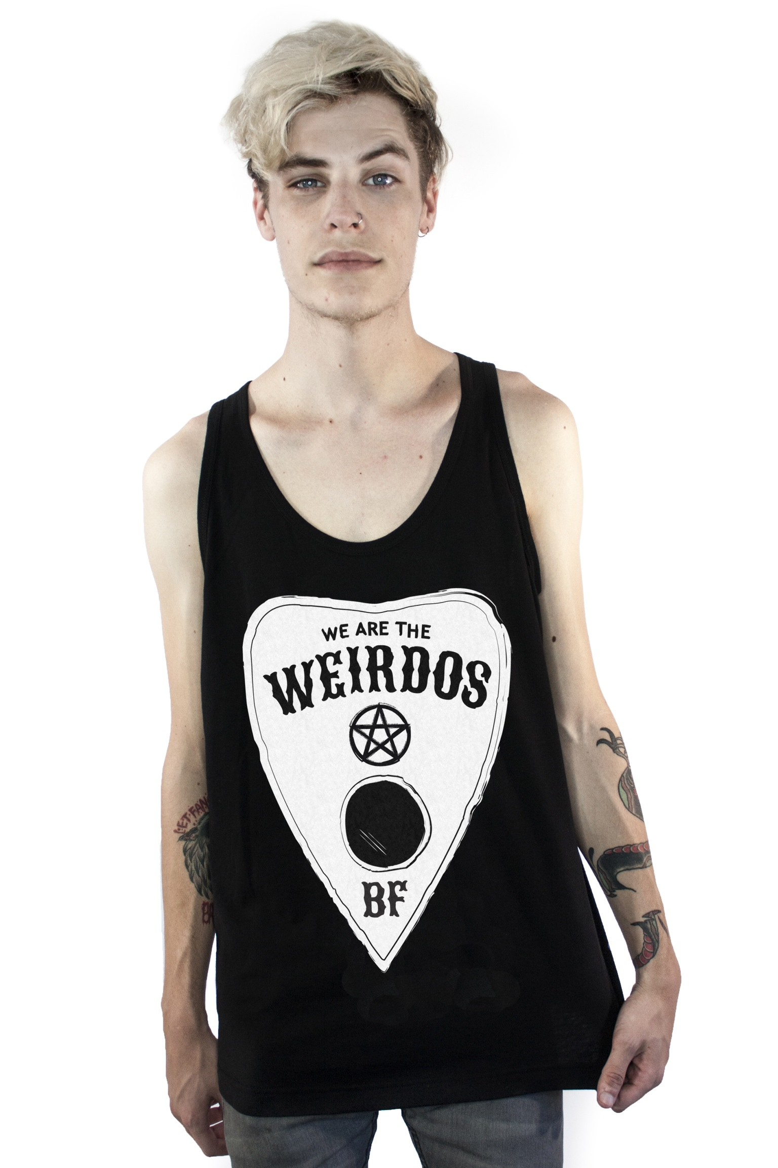 We Are The Weirdos Tank Top Mens Beauty Forever Brands Paper