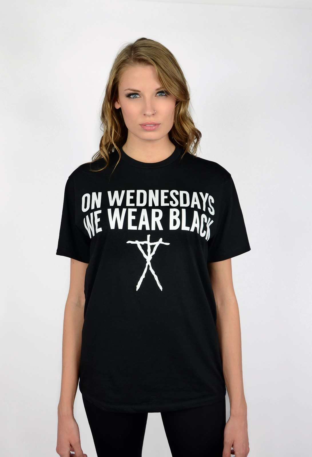 On Wednesdays We Wear Black - Womens - T-Shirts - Beauty Forever ...