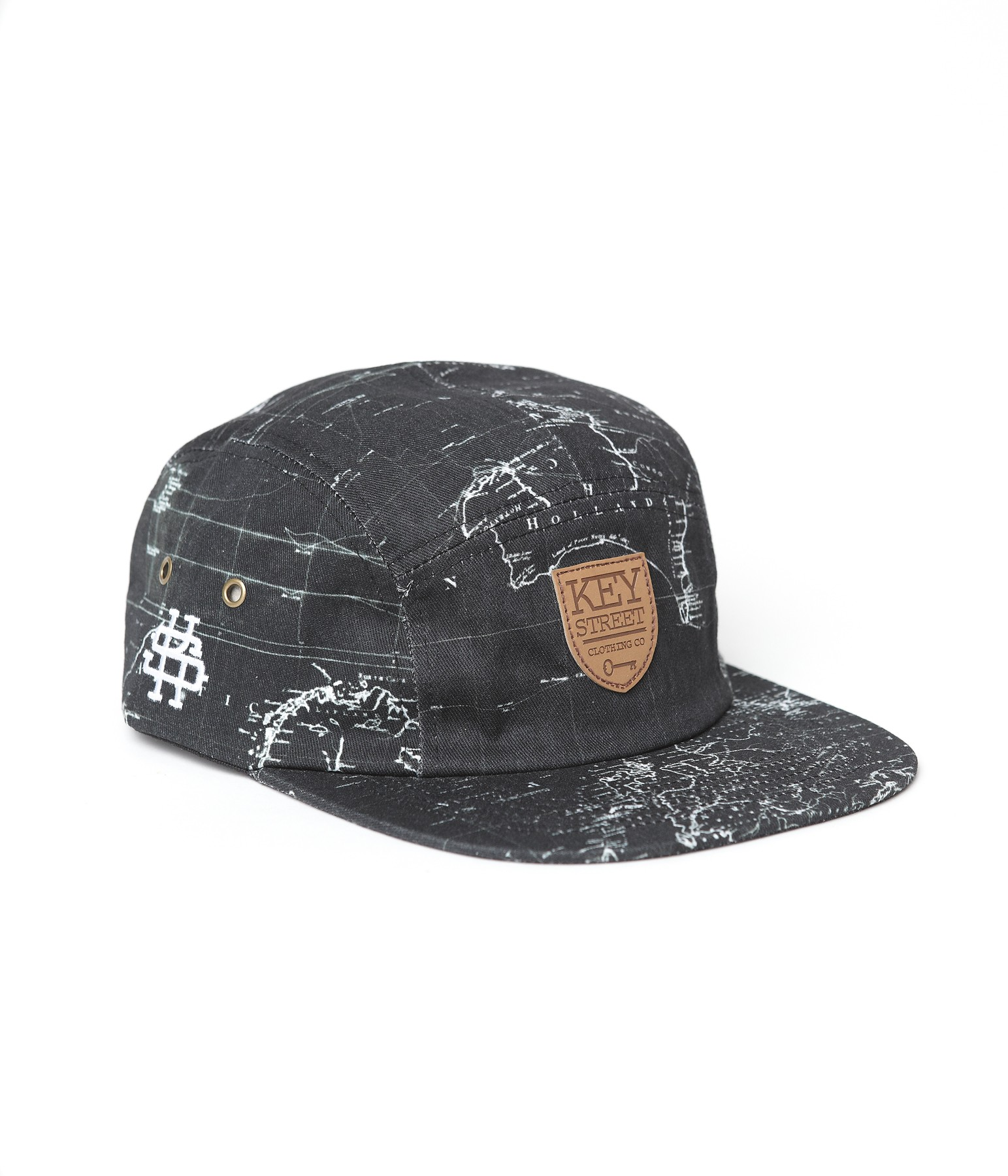 Leather Patch Camp Hat