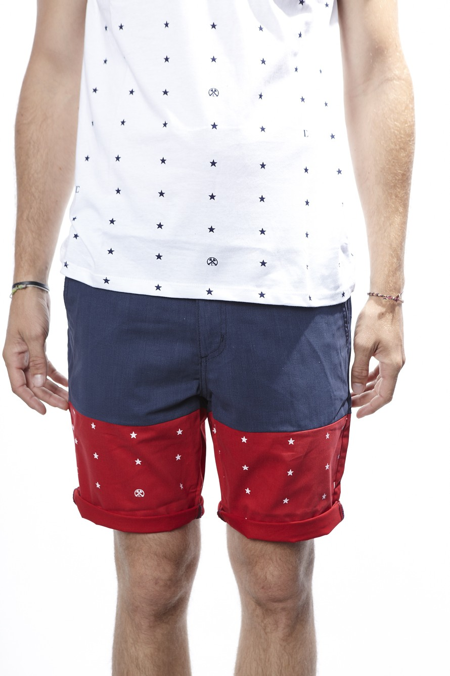 Just Star Montauk Shorts (Navy) Mens