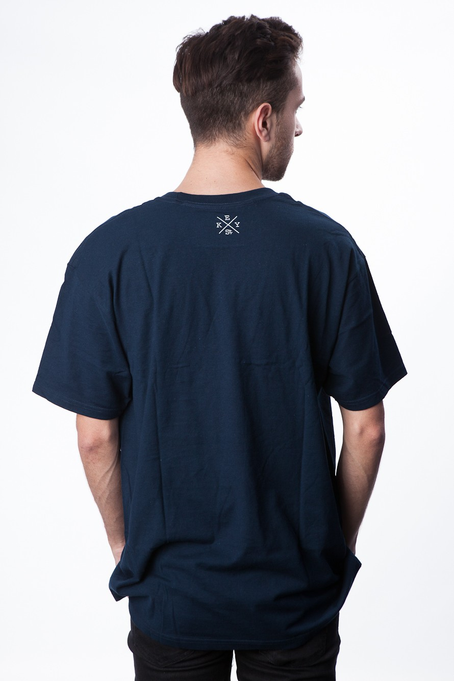 Calm Seas T Shirts (Navy) - Mens