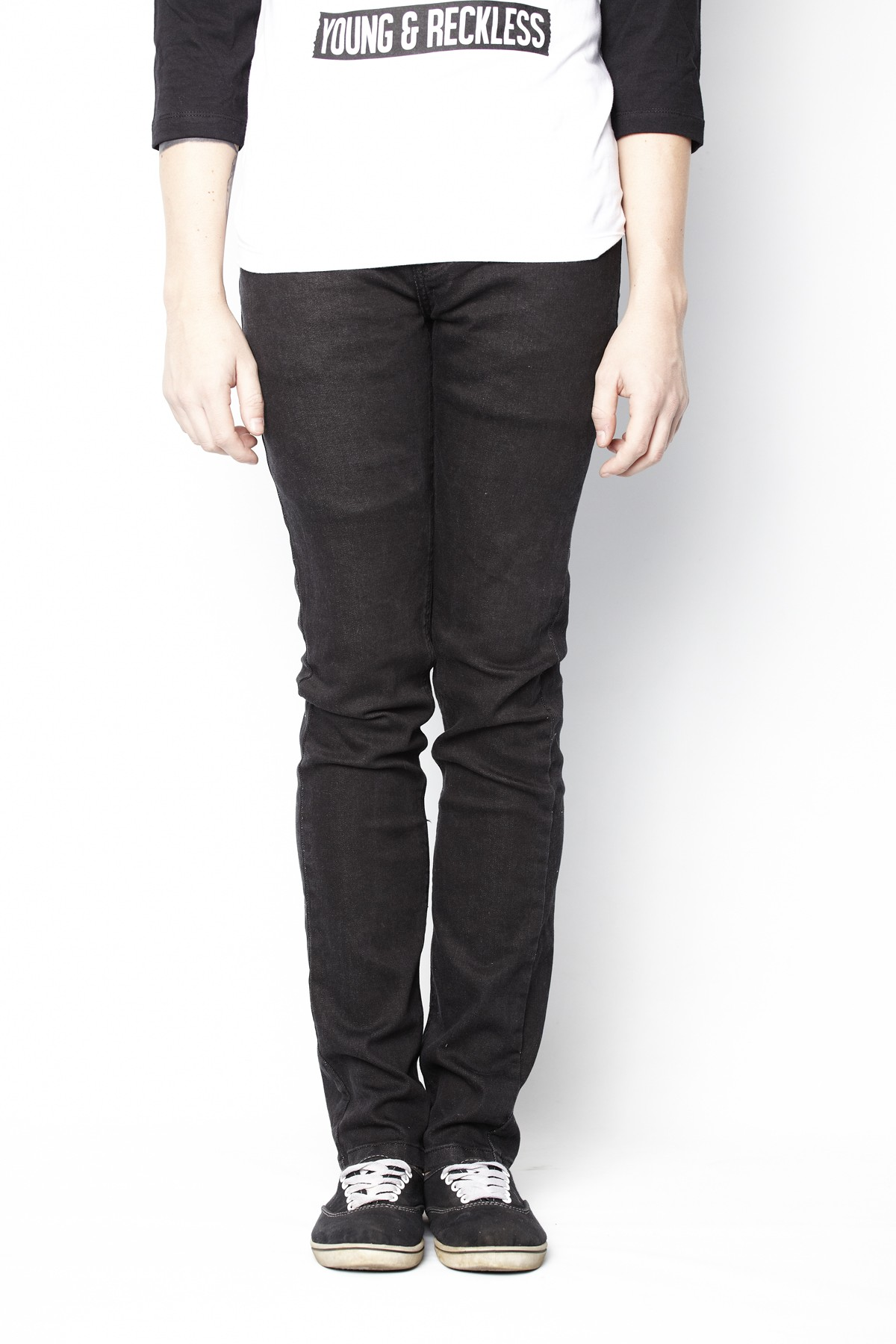 Skinny Denim (Black) Mens
