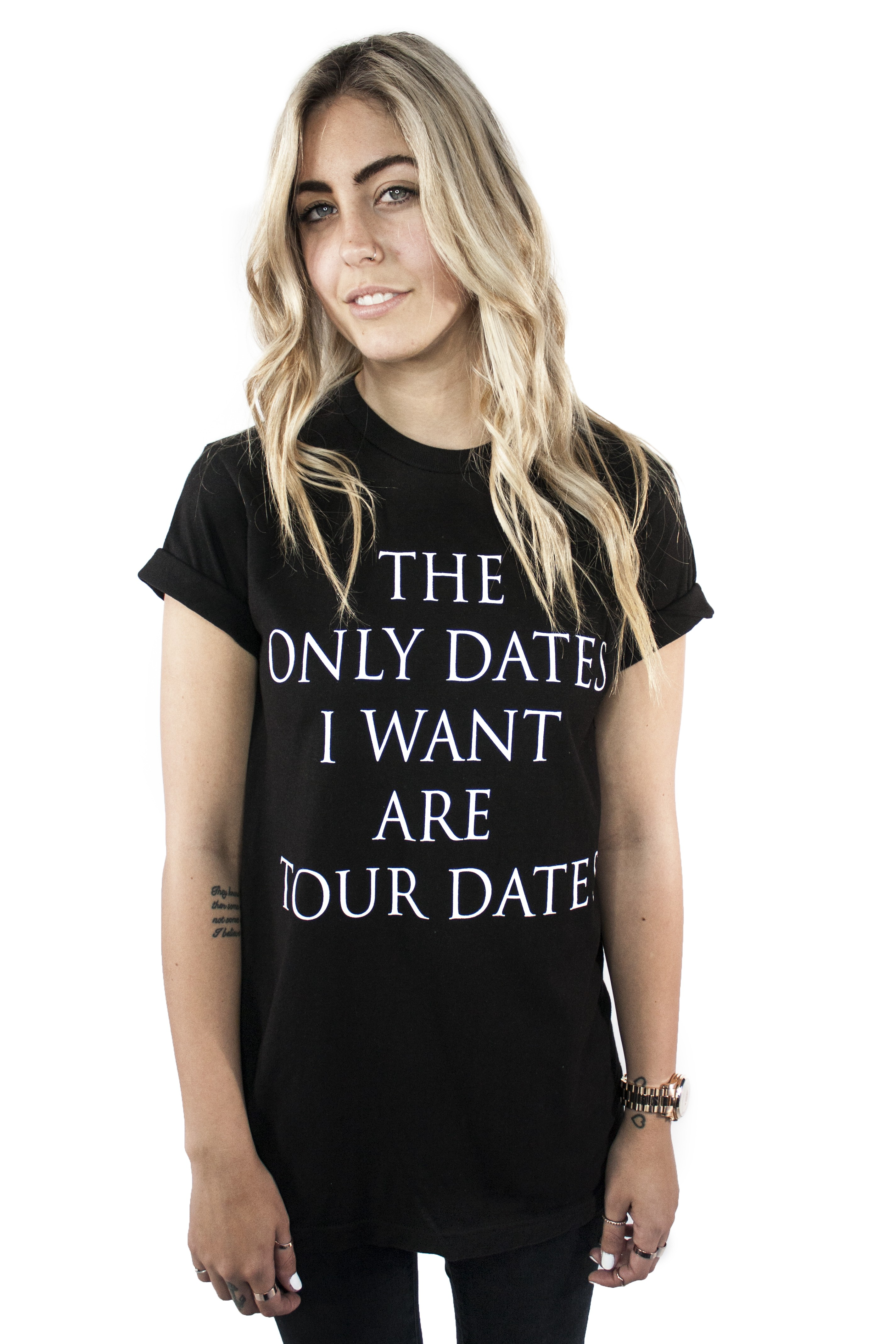 The Only Dates I Want  T- Shirt - Womens