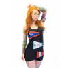 3 Flags Up Tank - Womens