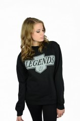 Live Like A King Crewneck  - Women