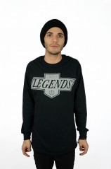 Live Like A King Long Sleeve - Mens