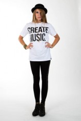 Create Music - Womens T-shirt