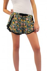 Floral Shorts - Womens