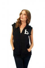 Bones Cut-Off Hood Womens