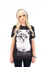 Lucipurr T Shirt  - Womens