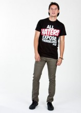 ALl Haters Expose Themselves- Mens T Shirt