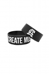 Create Music Bracelet - Black