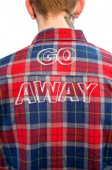 Go Away Flannel - Mens