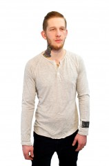 Standard Raglan Henley Men's Long Sleeve