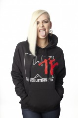 WTF Are You listening To -Pullover Hood - Womens