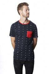 Just Stars Ringer (Navy) - Mens
