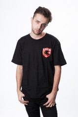 Key St FC T Shirt (Black) - Mens