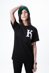 Crew (Black) T Shirt. - Womens