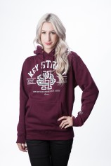 World Series Pullover (Maroon) - Women's