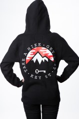 Take A Hike Zip Up Hood - Womens