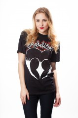 Rebel Love T Shirt Womens