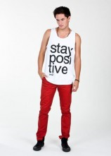 Stay Positive - Men's Tank Top